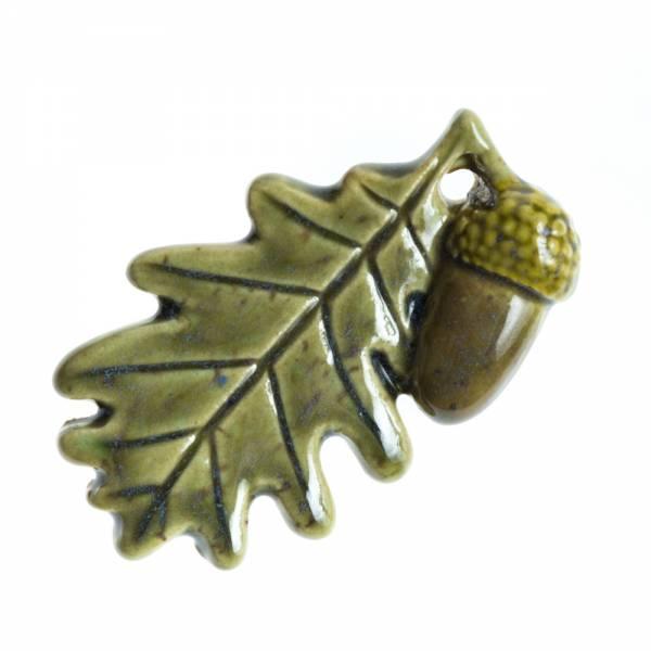Broš - hrastov list