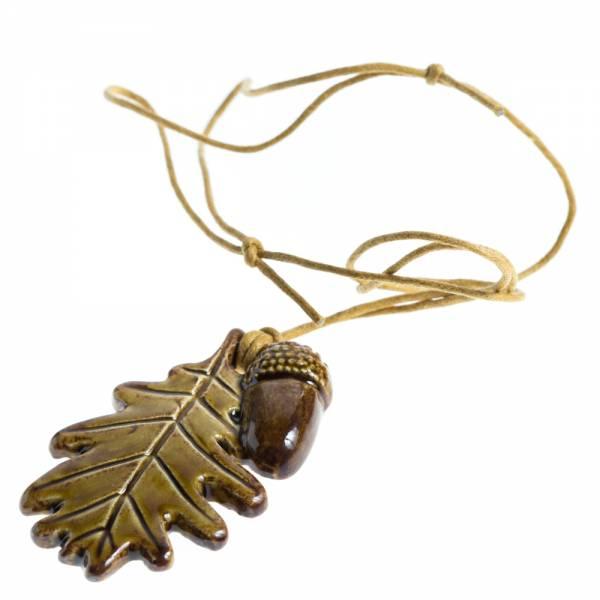 Ogrlica - hrastov list