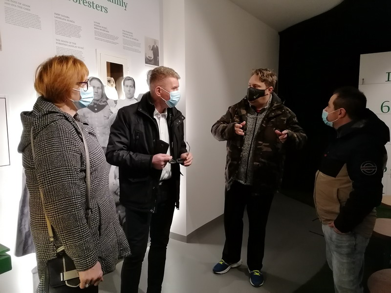 Noć muzeja 2021. - Postav Centra Med dvemi vodami obišlo sveukupno 120 posjetitelja u 7 termina!