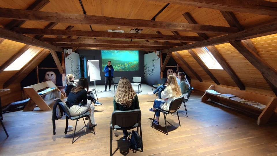 Održana edukacija za buduće vodiče u Centru Med dvemi vodami