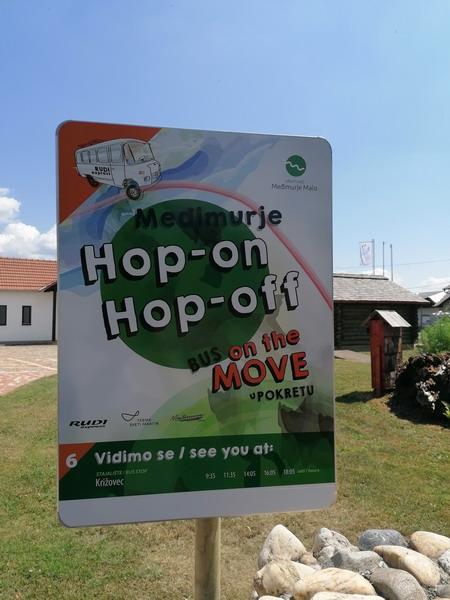 Hop on – Hop off Bus Međimurje u pokretu